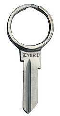 Keybrid blank for SC1 keys/locks
